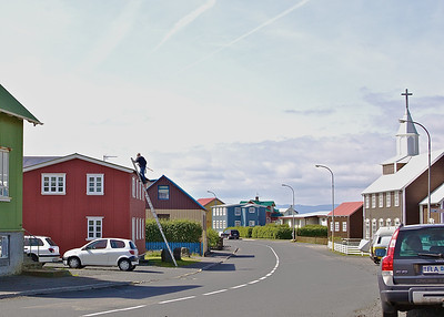 An Icelandic Fishing Village:  Stokkseyri
