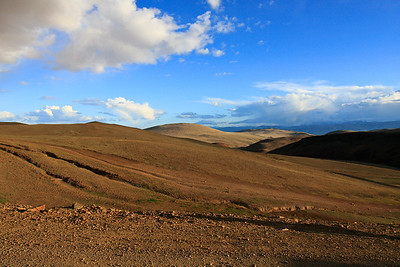 The Steppes of Northwest Mongolia
