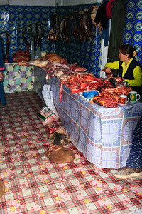 The Meat Market. Ulgii, far NW Mongolia