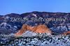 Gray Rock after Snowstorm, Colorado Springs, Colorado