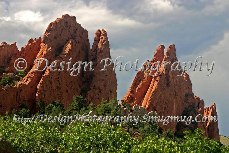 North & South Gateway Rocks, Garden of the Gods Park, Colorado Springs, Colorado
