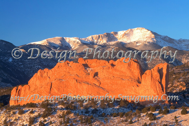Early Morning at Garden of the Gods Park, Colorado Springs, Colorado