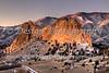 Gray Rock Just Before Sunrise, Colorado Springs, Colorado