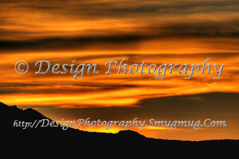 Sunset, October, Pikes Peak, Colorado Springs, Colorado