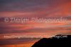 Cheyenne Mountain and a Beautiful Sunset