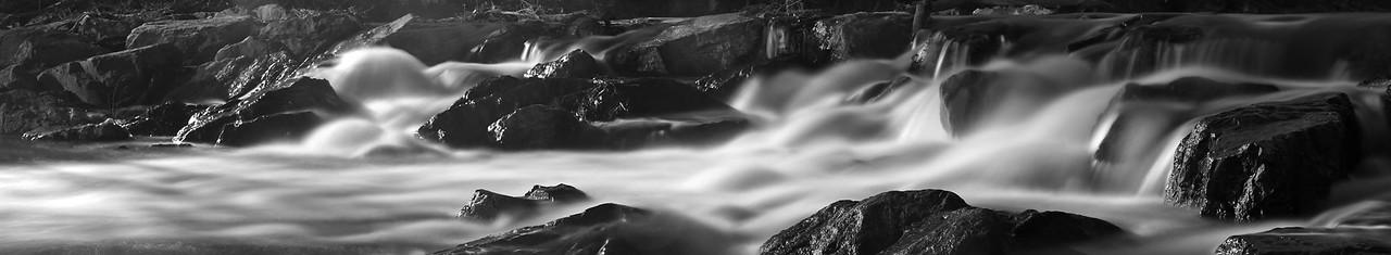 Waterfall on Monument Creek, Colorado Springs, Colorado
