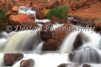 Rainbow Falls, North Cheyenne Canyon, Colorado Springs, Colorado