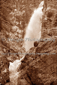 Senator Falls in Sepia, Colorado