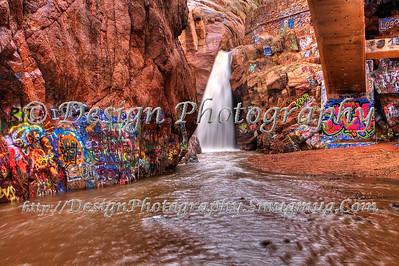 Rainbow Falls, El Paso County, Colorado
