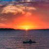 7. Kyak at   sunset