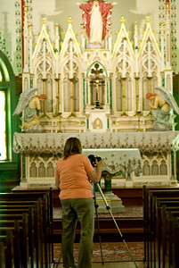 Photo Shoot At St. Mary's In Plantersville