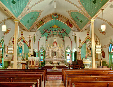 St. Mary Catholic Church in Plantersville Texas