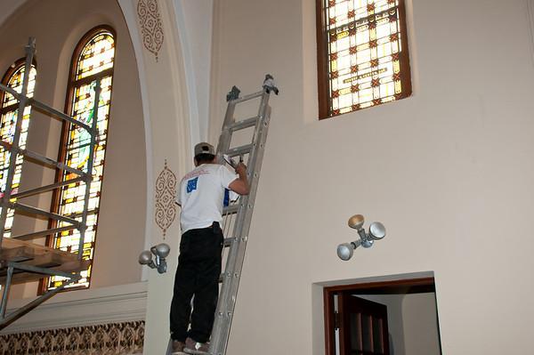 Restoration of St. Mary In Brenham Texas