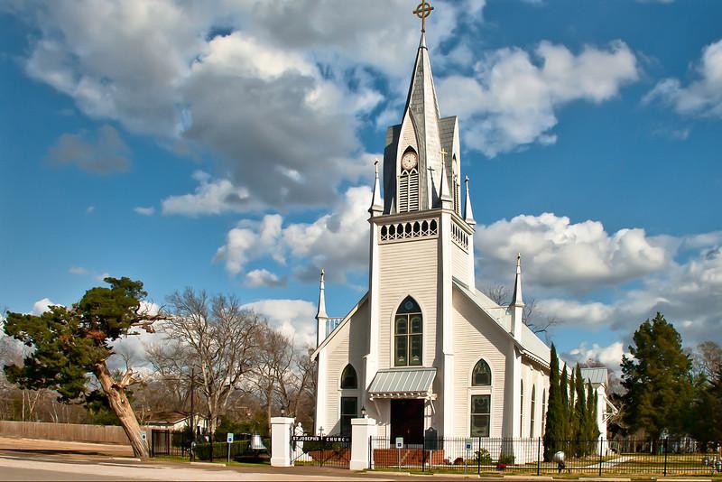 St. Joseph's Catholic Church Homecoming Bazaar in New Waverly, Texas