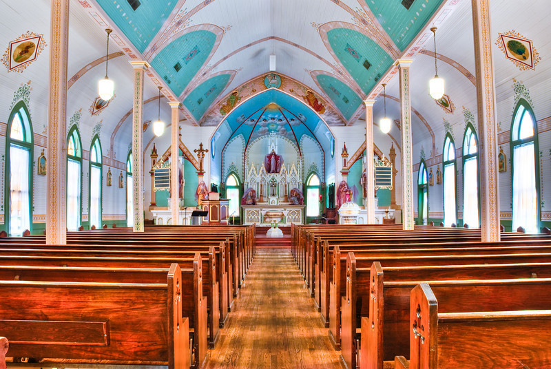 St. Mary Catholic Church Virtual Tour In Plantersville Texas