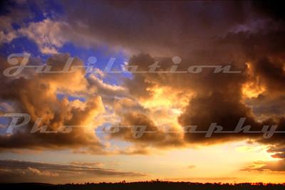 God loves sunsets.