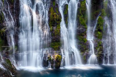 Burney Falls close up.