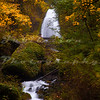 Wahkeena Falls in the Colombia River Gorge.