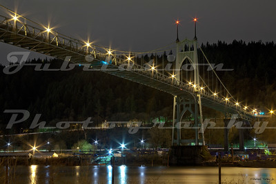 Another view of the St. John's Bridge.