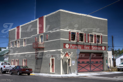 The Portola Fire Station