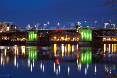 The Morrison Bridge in Portland, OR was build in 1958 and is the largest mechanical device in Oregon.