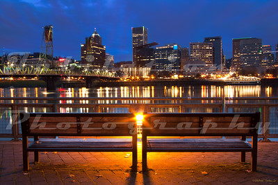 The Eastbank Esplanade in Portland, OR.