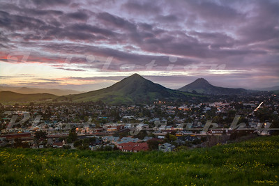 San Luis Obispo from Terrace Hill.