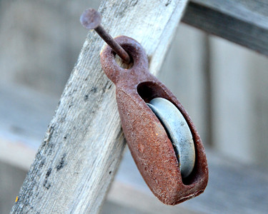 Rustic Pulley