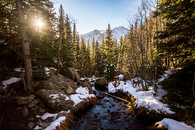 Rocky Mountain National Park sunrise