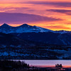 Sunrise over Lake Dillon