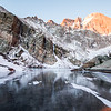 Winter Sunrise at Chasm Lake