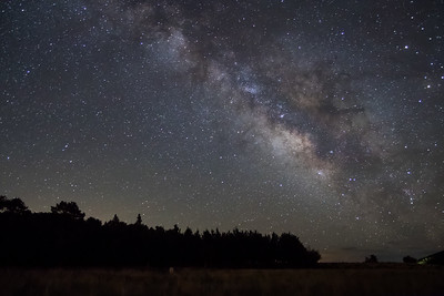 Milky way over Kenosha Pass
