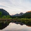 Sunrise at Hyalite Reservoir