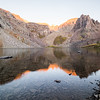 Sunrise at Cathedral Lake
