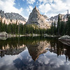Lone Eagle Peak reflection