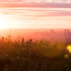Sunrise looking east towards Denver