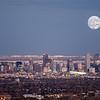 Supermoon Over Denver, Colorado