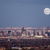 Supermoon Over Denver, Colorado