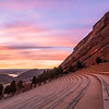 Shiprock Sunrise at Red Rocks Amphitheater