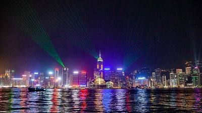 Hong Kong night show