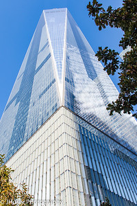 One World Trade Center building in New York City