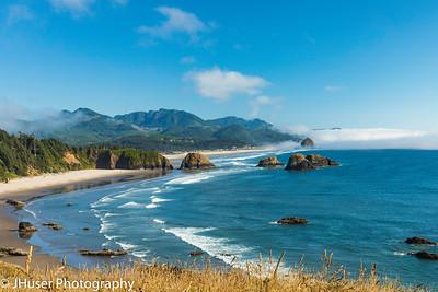 Crescent and Cannon Beach in Oregon