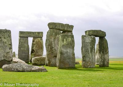 Closer view of Stonehenge