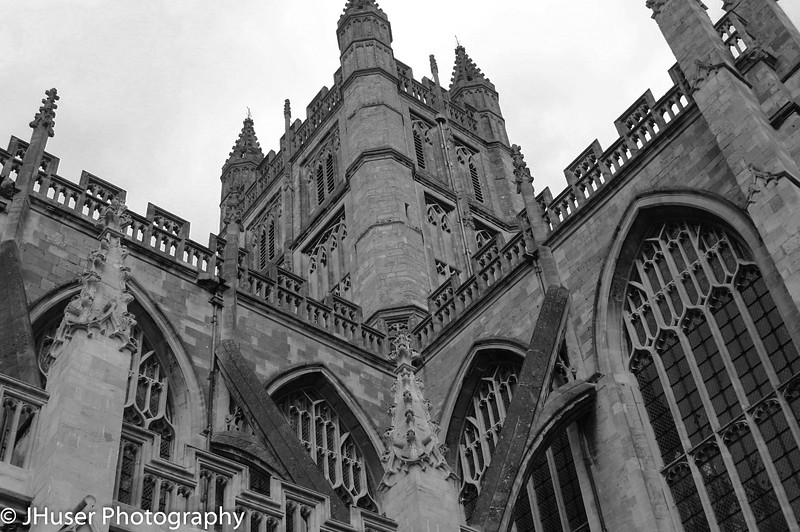 Cathedral in Black and White