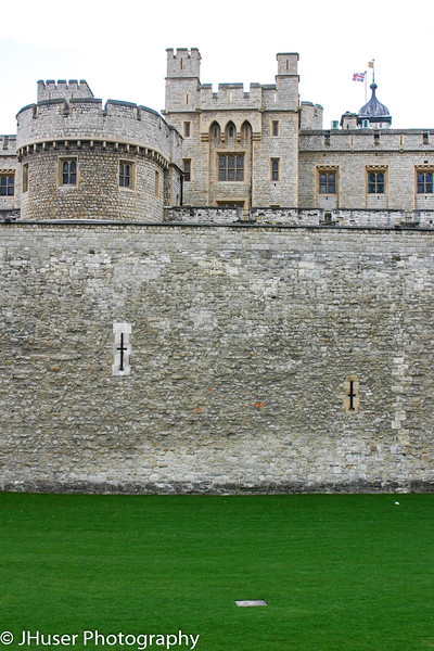 Wall around Tower of London