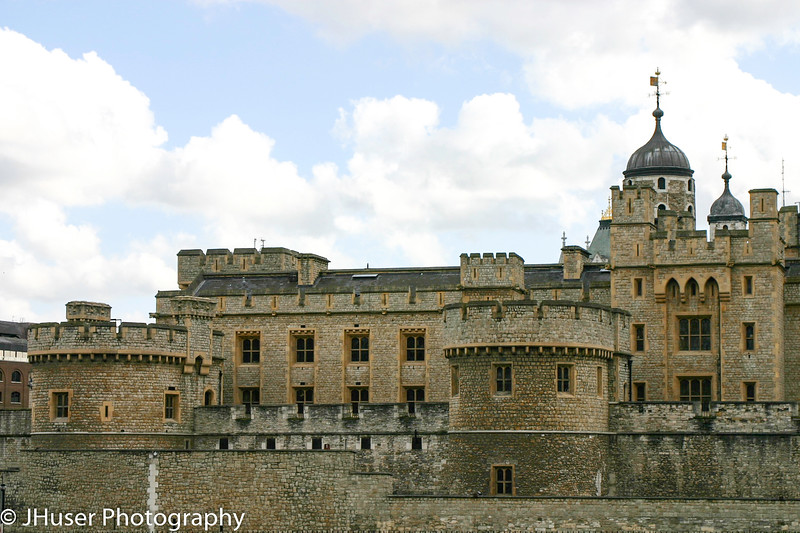 Other side of Tower of London