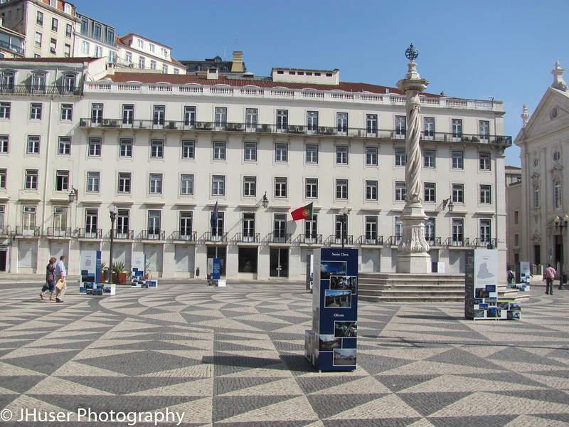 Plazas in Lisbon Portugal