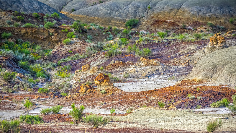 What World is This, in the Beautiful Badlands of North Dakota