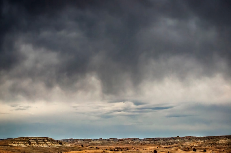 Storm over Petrified Forest