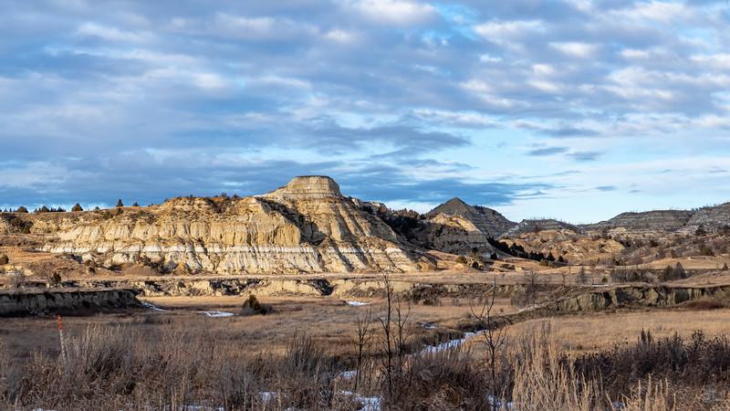 Overlooking Magpie Creek in Winter, Billings County, North Dakota
